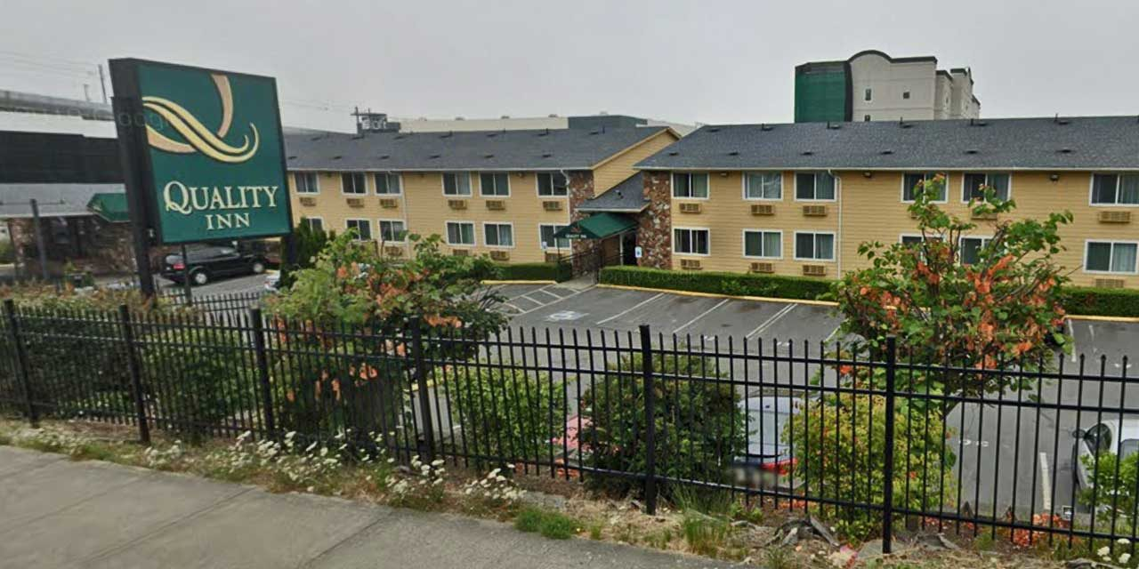 King County will turn Quality Inn hotel in SeaTac into temp shelter for homeless