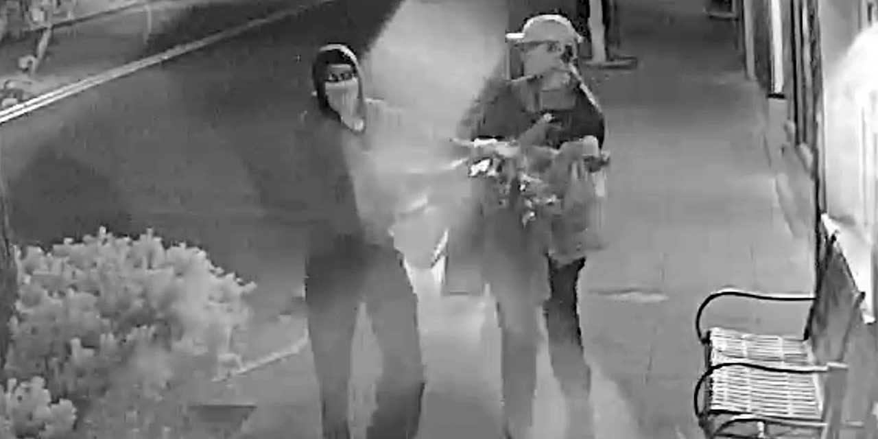 VIDEO: Recognize these thieves? They stole 38 Pride Flags in downtown Burien