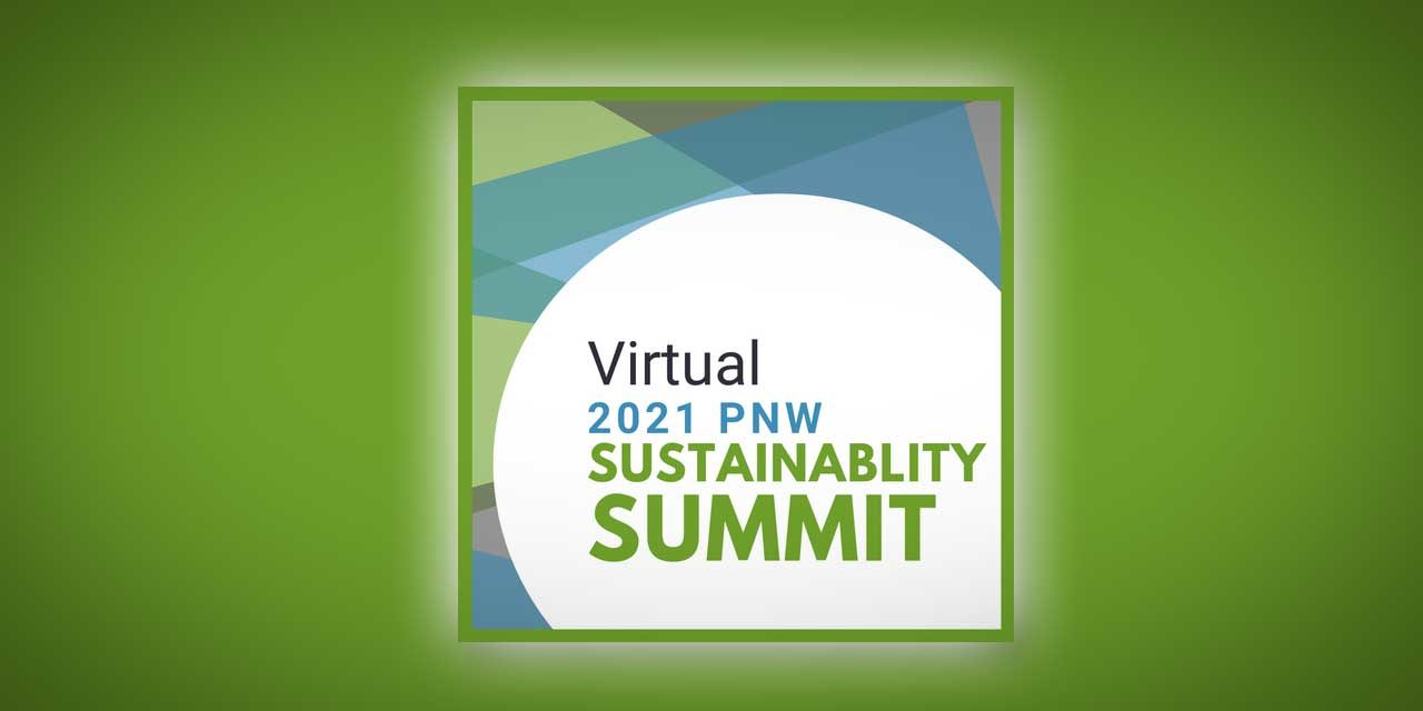 Seattle Southside Chamber's Virtual 2021 PNW Sustainability Summit will be Wed., Jan. 27