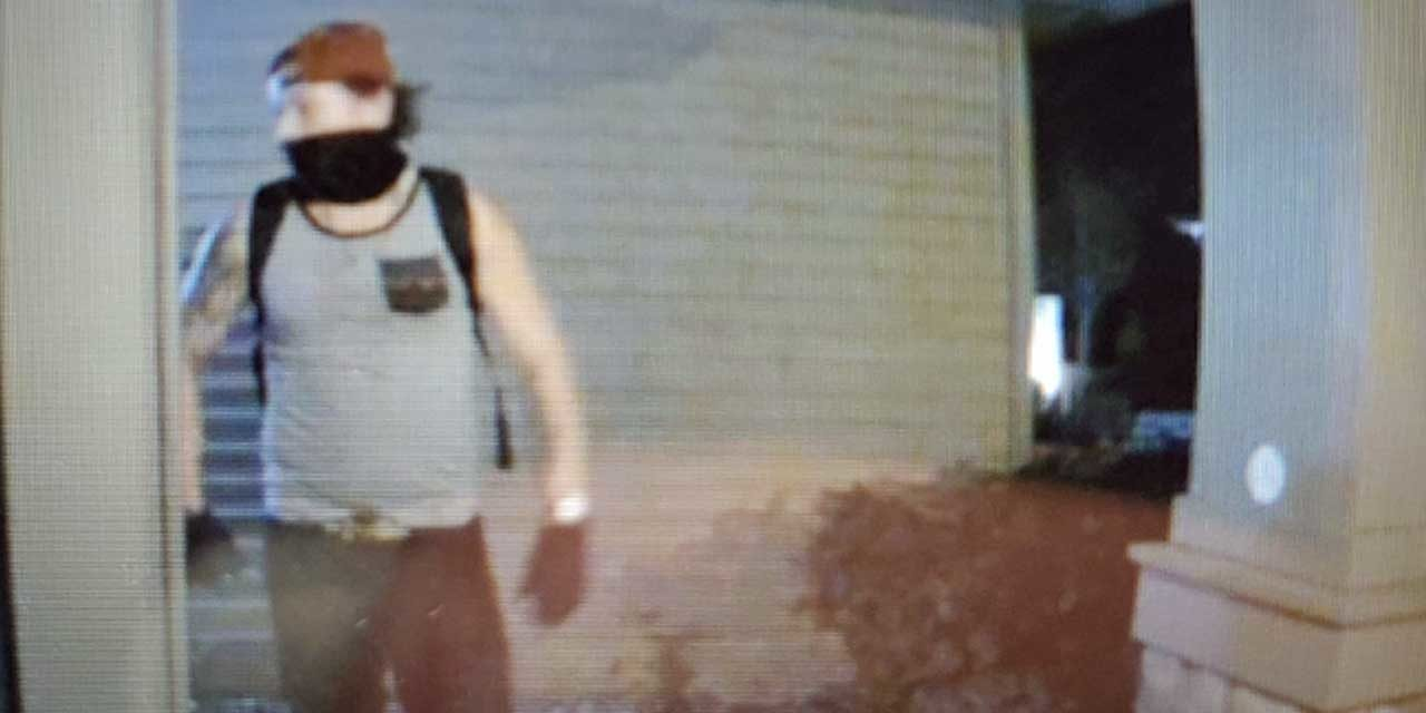 SeaTac Police seeking public's help identifying suspect wanted in connection with burglary