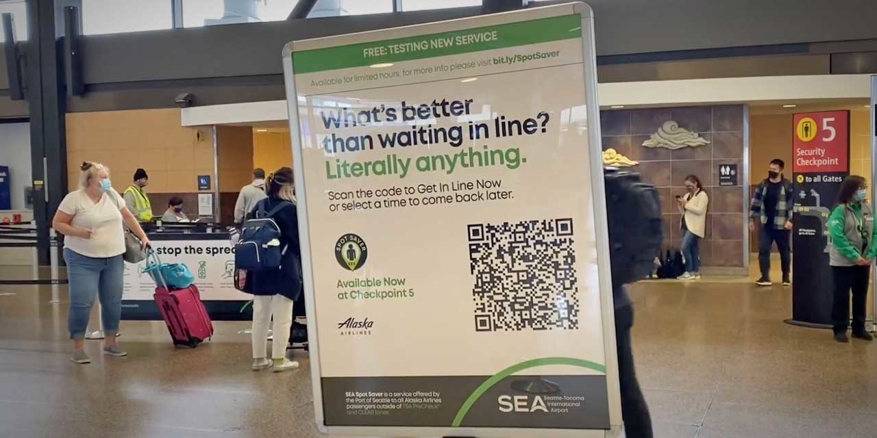 You can now travel through Sea-Tac Airport without touching any screens