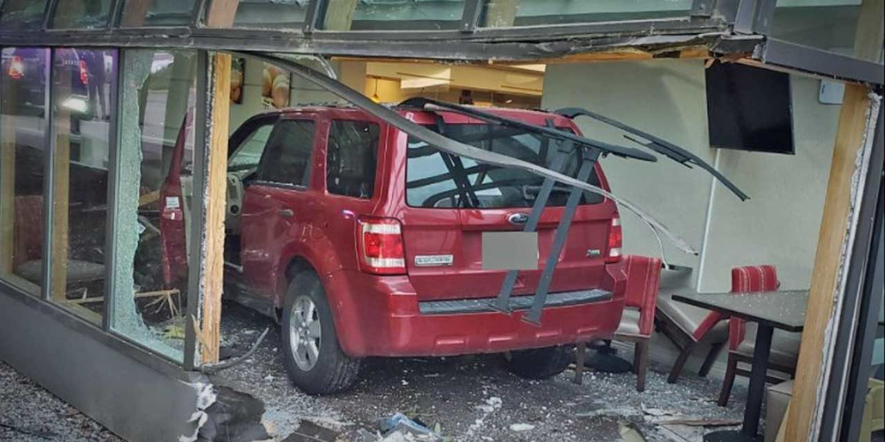 Police seeking public's help finding driver who caused crash into SeaTac hotel