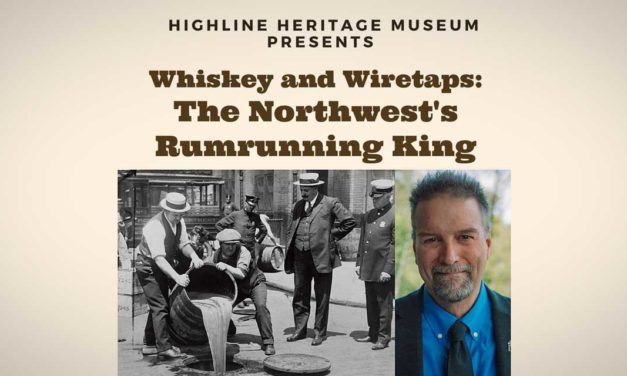 Learn about the 'Northwest's Rumrunning King' at Highline Heritage Museum Sept. 18